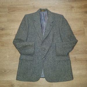 Vintage Christian Dior Tweed Wool Blazer